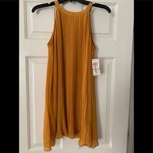 Gianni Bini GB Girls Tunic Halter Dress  Large